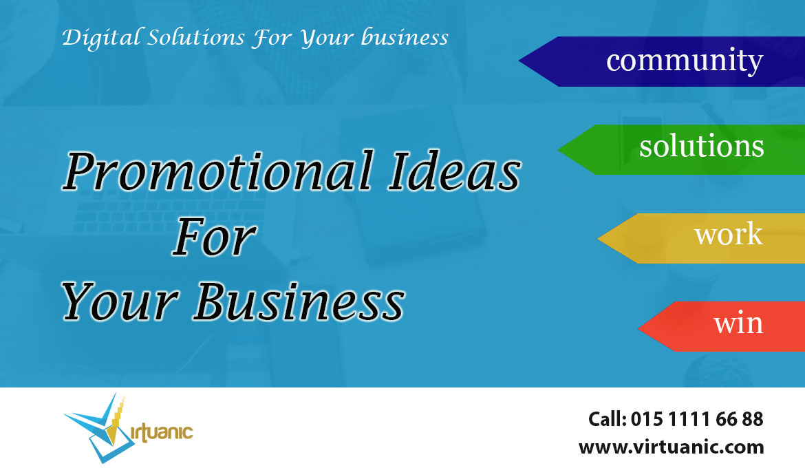 Promotional Ideas For Your Business
