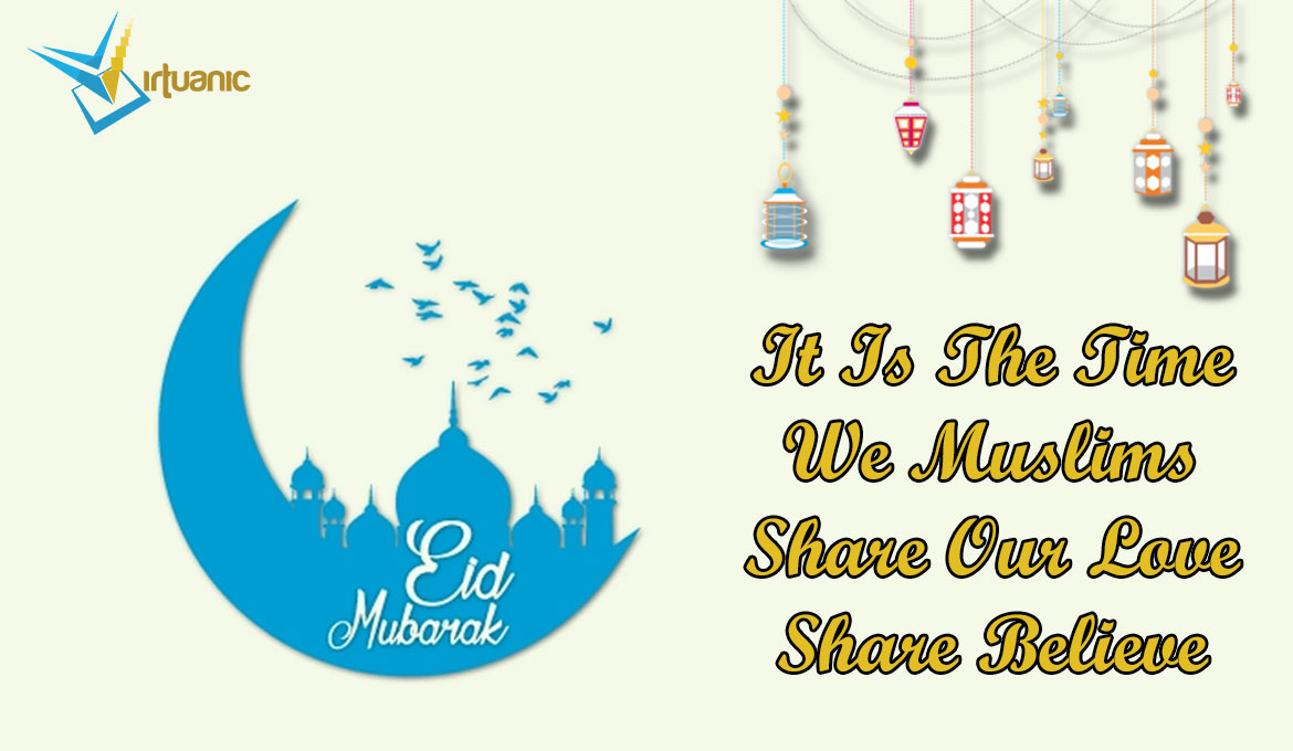 Eid-Ul-Fitr is the first day of the Islamic month of Shawwal